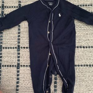 EUC Polo footed one piece